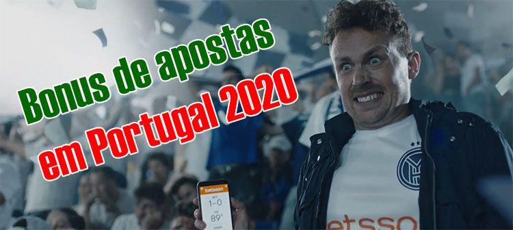 bonus apostas portugal 2020